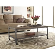 Altra Cecil Wood Veneer Coffee Table, Rustic