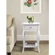 Altra Kennedy Accent Table, White