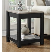 Altra Furniture Medium Density Fiberboard End Table, oak, Each (5046196PCOM)