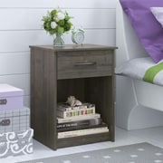 Altra Core Nightstand, Dark Gray Oak