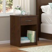 Altra Core Nightstand, Medium Brown