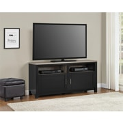 "Altra Carver 60"" TV Stand, Black/Sonoma Oak (1753296PCOM)"