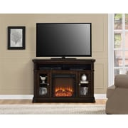 "Altra Brooklyn 50"" Fireplace TV Console, Espresso (1765096PCOM)"