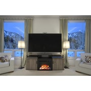 "Altra Carson 70"" Fireplace TV Console, Sonoma Oak/Black (1766096PCOM)"