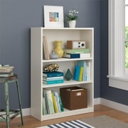 Altra Core 3 Shelf Bookcase, White (9424015PCOM)