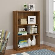 Altra Core 3 Shelf Bookcase, Bank Alder (9424301PCOM)