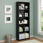 Altra 5 Shelf Bookcase, Black Ebony Ash (9425026PCOM)