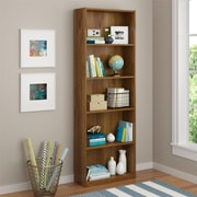 Altra Core 5 Shelf Bookcase, Bank Alder (9425301PCOM)