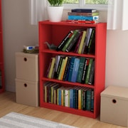 Altra Core 3 Shelf Bookcase, Ruby Red (9424317PCOM)