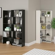 Altra Transform Expandable Bookcase, Midnight Onyx (9645325PCOM)
