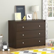 Cosco Elements 3 Drawer Dresser, Resort Cherry (5848207PCOM)