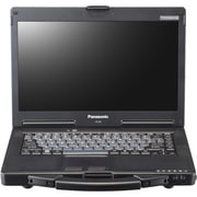 "Panasonic® Toughbook 53 CF-532JCZACM 14"" Notebook, LCD, Intel i5-4310U, 320GB HDD, 4GB RAM, Win 7 Pro, Black/Silver"