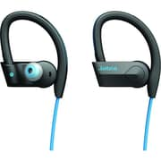 Jabra (100-97700002-02) SPORT PACE In-Ear Wireless Bluetooth Stereo Earset with On-Cable Microphone, Blue/Black