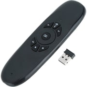 4XEM (XSVC120) Xstreamview Wireless USB Gyroscope Air Mouse with Keyboard, Black