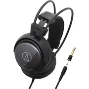 Audio Technica® SonicPro® ATH-AVC400 Wired Over-Ear Stereo Headphone, Black