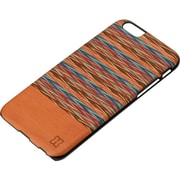 Man and Wood Slim Case for Use with iPhone 6/6S, Browny Check (M1490B)