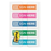 Post-it® - Languettes « Sign Here »