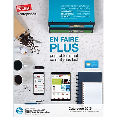 Staples® Catalogue, French