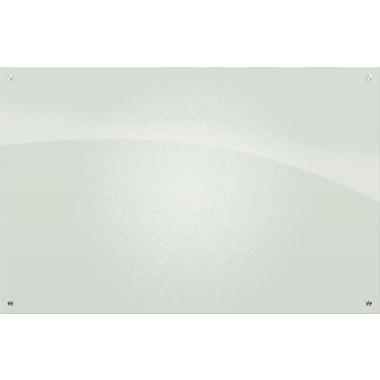 Best-Rite Enlighten, 4' x 6', Glass Frosted Pearl Dry-Erase Board (83952)
