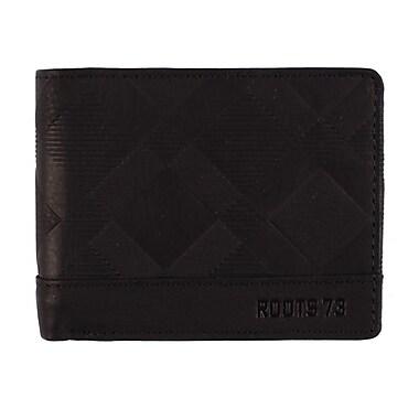 Roots RFID Slim Wallet, Mens, Black, RT20252-RN-B