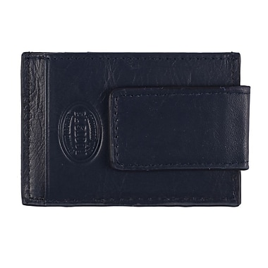 Roots – Portefeuille anti-RFID avec pince à billets, hommes, bleu marine, RT206MC-9-N