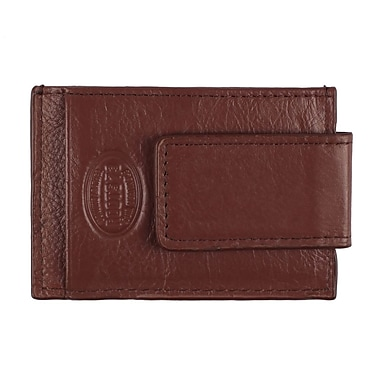 Roots RFID Money Clip Wallet, Mens, Whiskey, RT206MC-9-W