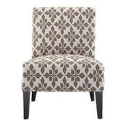 DHI Monaco Spades Slipper Chair; Taupe