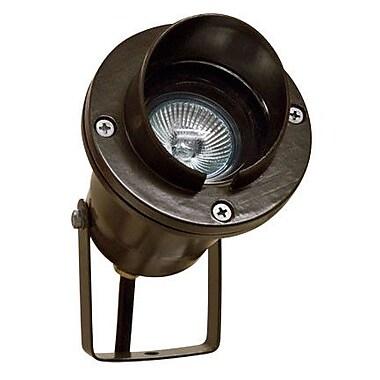 Dabmar Lighting 1 Light Spot Light; Bronze