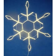 Queens of Christmas Snowflake Rope Light; 48'' L