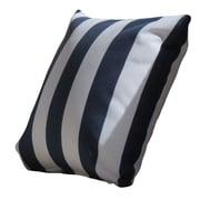 Creative Living Stripe Throw Pillow (Set of 2); Navy