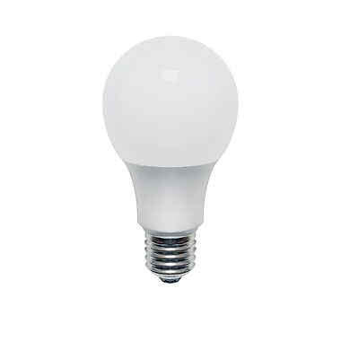 Northern Stars 80078 LED Light Bulb, A19 10W, Dimmable, Frosted, White, 10/Pack