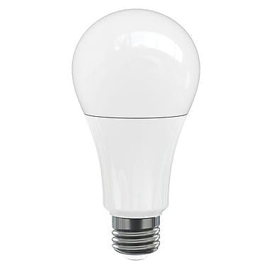 Northern Stars 80086 LED Light Bulb, A21 18W, Dimmable, Frosted, White, 10/Pack