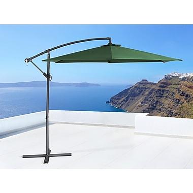 Beliani – Parasol de terrasse en porte-à-faux CAVALLI, en vert