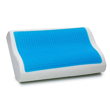 Beliani MOCO Contour Molded Memory Foam Neck Pillow, Gel