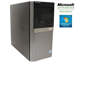 Refurbished Dell Optiplex Tower Model # 960 Intel Core 2 Duo E8400 (3.0GHz), 4GB Ram, 1TB HDD, DVDRW
