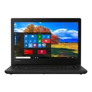 "Toshiba Tecra C40-C1430 14"" Notebook, HD, Intel Core i5 6200U, 500GB HDD, 4GB RAM, Windows, Graphite Black, Black Keyboard"