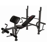 Marcy Standard Adjustable Olympic Bench with Butterfly