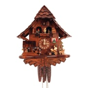 Black Forest Cuckoo Clock w/ Beer Drinker and Music