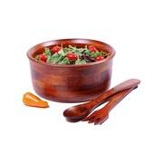 Woodard & Charles Salad w/ Style 3 Piece Salad Bowl Set