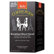 Melitta Melitta One 18 Pods Breakfast Blend Decaf Coffee Pods