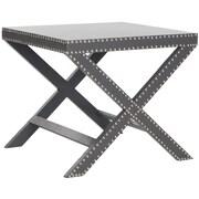 Safavieh Jeanine End Table; Gray