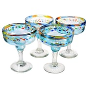 Global Amici Del Sol Margarita Glass (Set of 4)