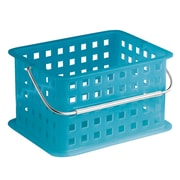 InterDesign Storage Organizer Basket, Small, Azure (61268)