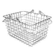 InterDesign Cero Wire Tote Basket for Kitchen/Pantry/Bathroom, Chrome (00761A)