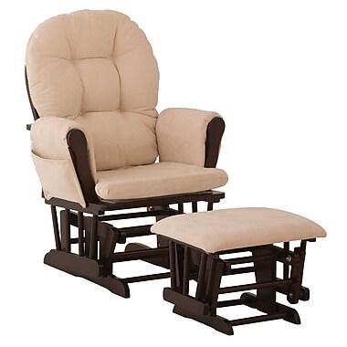 Storkcraft – Ensembles fauteuil berçant et pouf Hoop