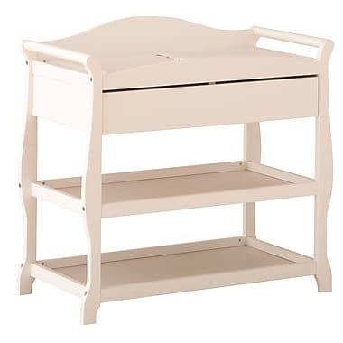 Storkcraft – Table à langer Aspen, blanc