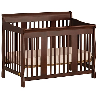 Stork Craft Tuscany 4-in-1 Convertible Crib, Cherry