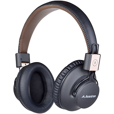 Avantree BTHS-AS9P-BLK Audition Pro Low Latency Bluetooth Over Ear 4.1 Headphones