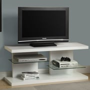 Monarch Specialties Inc. Contemporary TV Stand; White