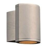 PLC Lighting Lenox-II 1 Light Outdoor Sconce; Silver